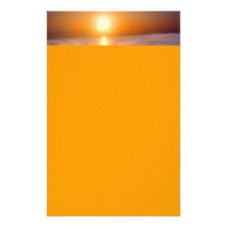 Papeterie Coucher du soleil d'océan