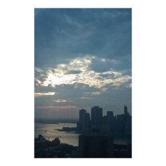 Papeterie Coucher du soleil Manhattan1