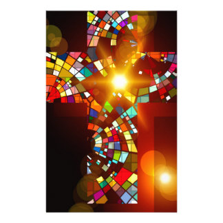 Papeterie Couleurs croisées colorées d'abrégé sur ministère