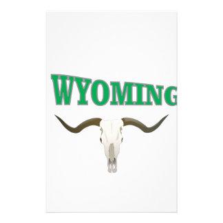 Papeterie Crâne du Wyoming