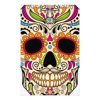 Papeterie Crâne mexicain de couleur