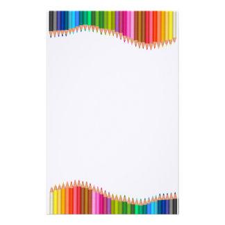 Papeterie Crayons colorés