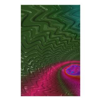 Papeterie Crépuscule de fractale de vent