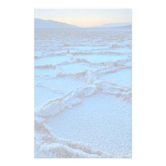 Papeterie crépuscule, Death Valley, la Californie