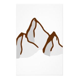 Papeterie Crêtes de montagne