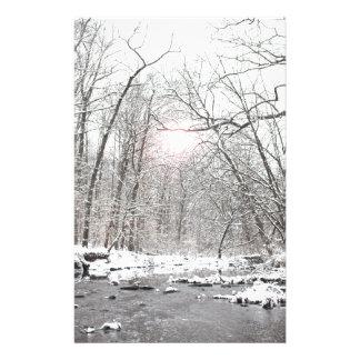 Papeterie Crique - hiver