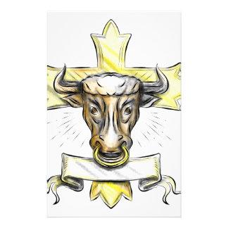 Papeterie Croix chrétienne principale de Bullock