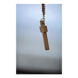 Papeterie Croix en bois