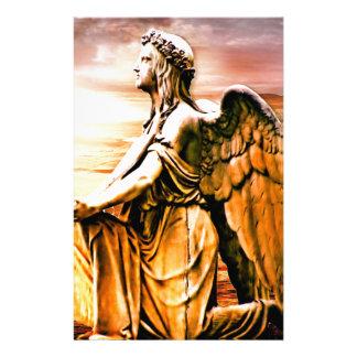 Papeterie croix et ange
