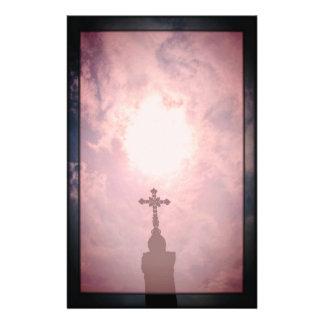 Papeterie Croix et divinement portail catholiques