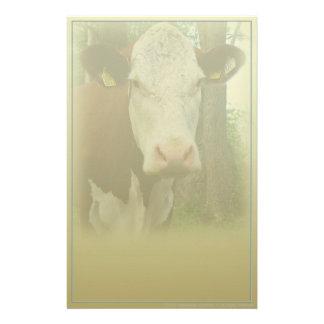 Papeterie curieuse de vache