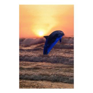 Papeterie Dauphin au coucher du soleil