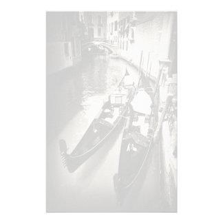 Papeterie de gondoles de Venise