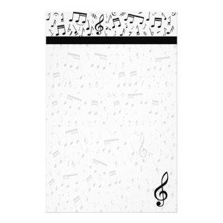 Papeterie de note de musique
