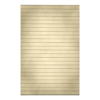 Papeterie De papier rayé dans Brown sale