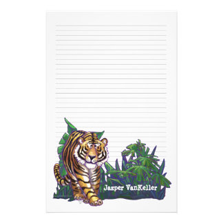 Papeterie de tigre