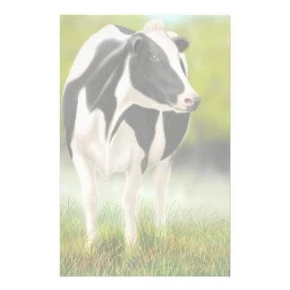 Papeterie de vache du Holstein