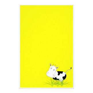 Papeterie de vache folle papier à lettre personnalisable