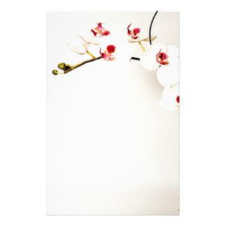 Papeterie de voûte d'orchidée