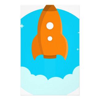 Papeterie Décollage de bateau de Rocket