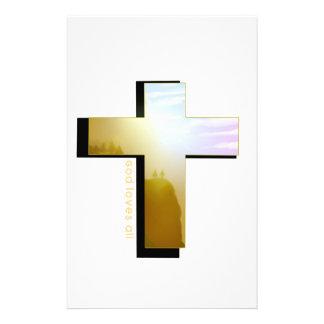 Papeterie Dieu aime toute la croix