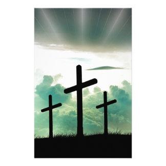 Papeterie Dieu croisé Jésus de foi du Christ opacifie la