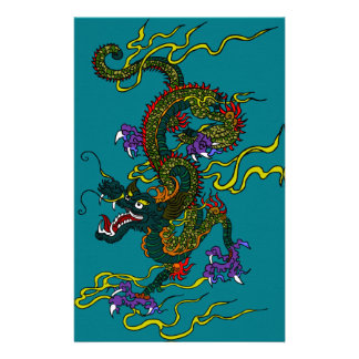 Papeterie Dragon chinois