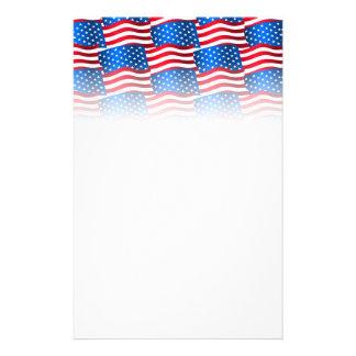 Papeterie Drapeaux des Etats-Unis