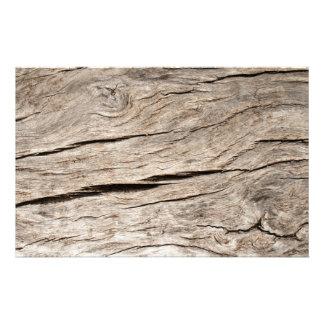 Papeterie Écorce d'arbre criquée de Faux