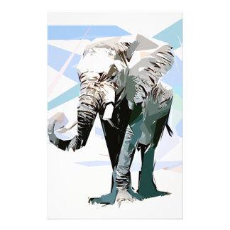 Papeterie éléphant d'afrique