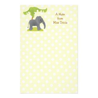 Papeterie Éléphant et arbre