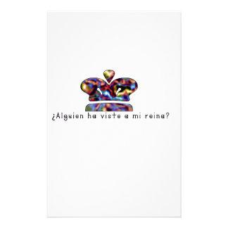 Papeterie Espagnol-Reine