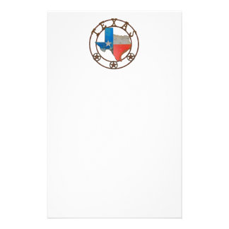 Papeterie État de fer travaillé du Texas