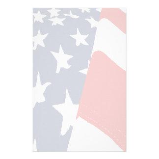 Papeterie fanée de drapeau américain