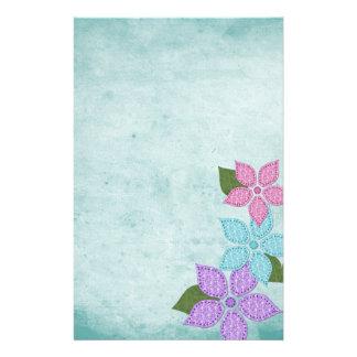 Papeterie fantaisie florale