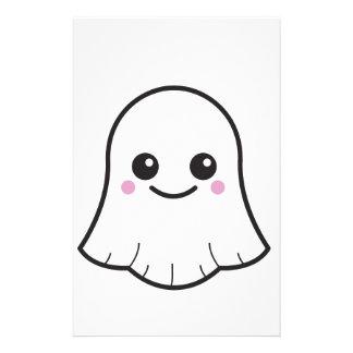 Papeterie Fantôme de blanc de Kawaii