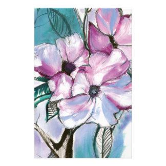 Papeterie Fleurs encrées