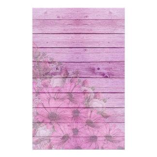 Papeterie Fleurs et bois