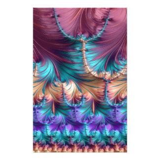 Papeterie Fontaine cosmique d'abrégé sur fractale d'enfance