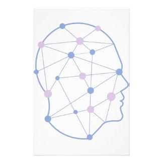 Papeterie Formes géométriques à l'intérieur de conception