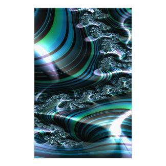 Papeterie Fractale d'invitation 2 de clarté