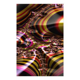 Papeterie Fractale d'invitation de clarté