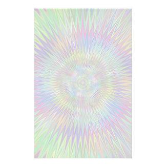 Papeterie Fractale hypnotique d'éclat d'étoile