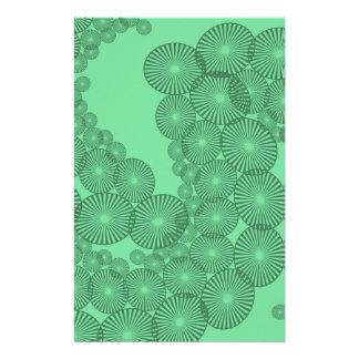 Papeterie Fractale verte