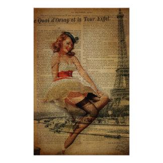 Papeterie Goupille nautique de Tour Eiffel de Paris vers le