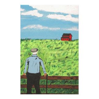 Papeterie Griff et la grange rouge