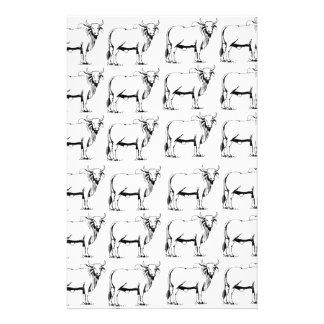 Papeterie groupe de mauvais taureaux