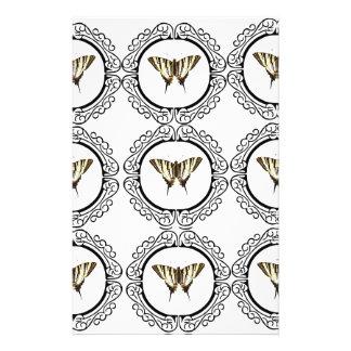 Papeterie groupe de papillons