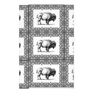 Papeterie groupes de bison