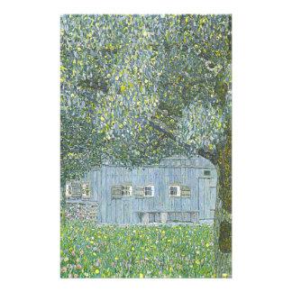 Papeterie Gustav Klimt - Bauerhaus dans la peinture de